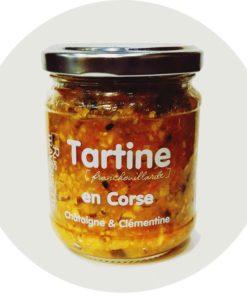 Tartine en Corse rue traversette