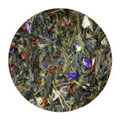 thé vert macaron, cassis, violette dammann le havre