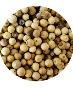Poivre blanc Malabar d'Inde poivres en vrac