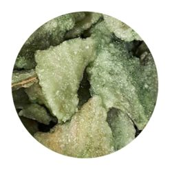 Feuilles de menthe cristallisée en vrac Comptoir Arômes