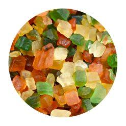 Fruits confits cubes en vrac Comptoir Arômes