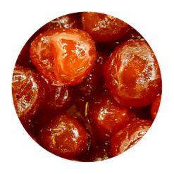 Cerises rouges confites en vrac Comptoir Arômes