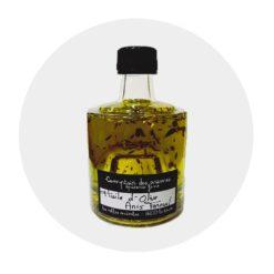 Huile d'olive Anis fenouil idéal poisson Comptoir