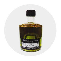 Huile d'olive Orange, coriandre Comptoir Arômes