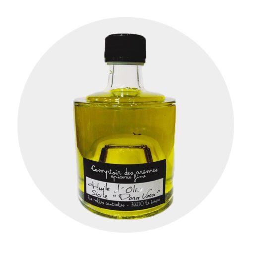 Huile d'olive Dona vona Sicile Comptoir Arômes