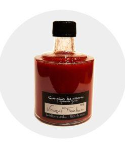 Vinaigre pulpe de framboise Comptoir Arômes