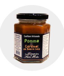 Confiture Pomme caramel beurre salé comptoir saint malo