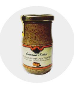 Moutarde au Pain d'Epices Fallot Comptoir Arômes