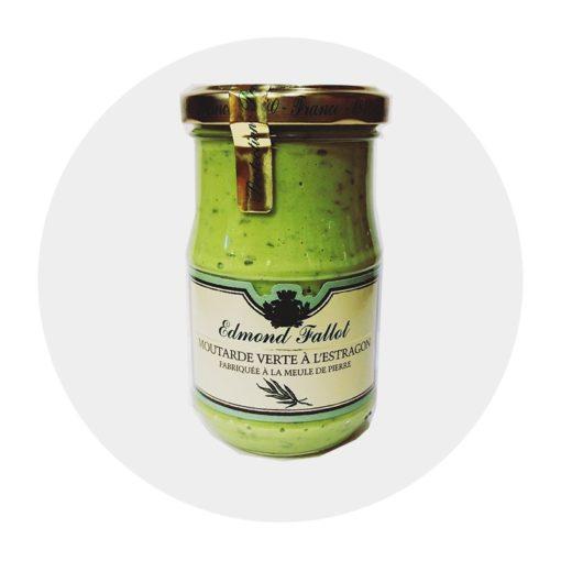 Moutarde à l'Estragon Fallot Comptoir Arômes