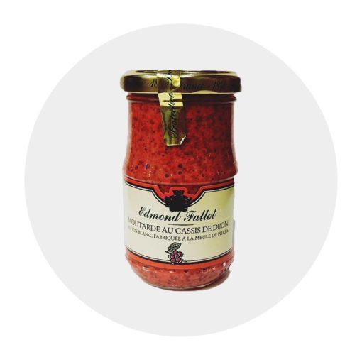Moutarde au Cassis Fallot Comptoir Arômes