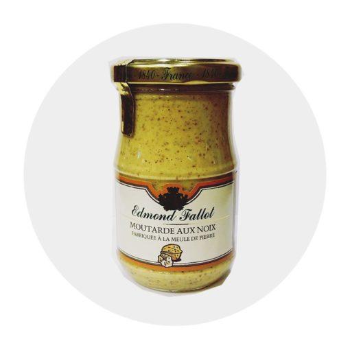 Moutarde aux Noix Fallot Comptoir Arômes