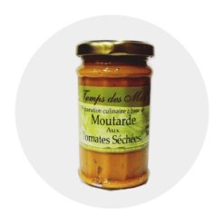 Moutarde aux Tomates séchées Comptoir Arômes