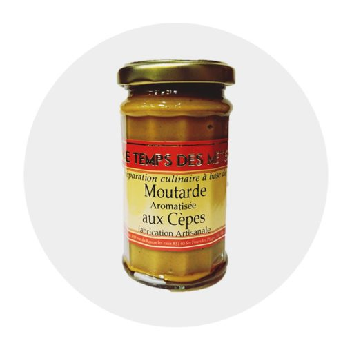 Moutarde aux Cèpes