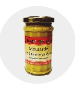 Moutarde Curry et graines de Sésame Temps des Mets