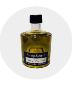 Huile d'olive Basilic empilable Comptoir Arômes
