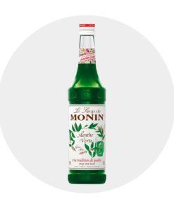 Sirop Menthe Verte Monin Comptoir des Arômes
