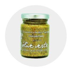 Tapenade Olive verte Citron vert Thé vert