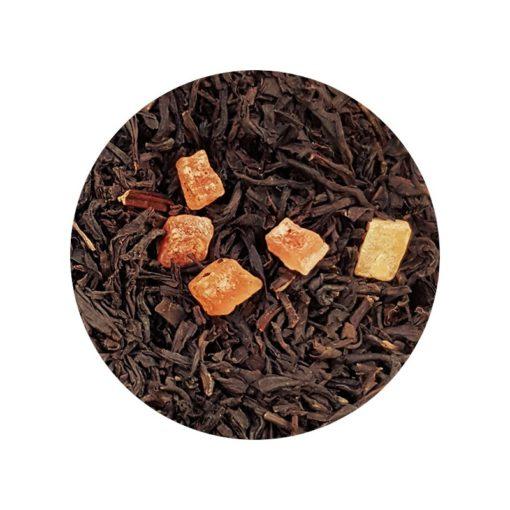 Caramel Toffee thé noir dammann frères en vrac