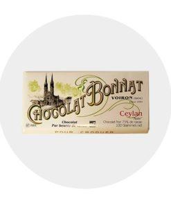 Chocolat Noir Bonnat Ceylan 75 %