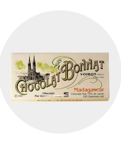 Chocolat Noir Bonnat Madagascar75 %