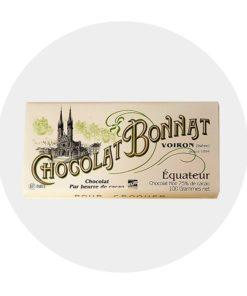 Chocolat Noir Bonnat Equateur 75 %