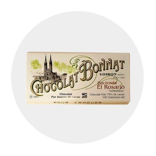 Chocolat Noir Bonnat Hacienda del Rosario 75 %