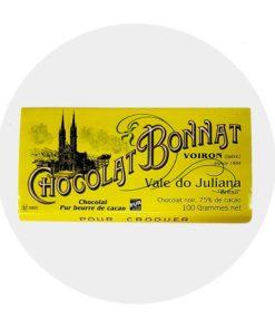 Chocolat Noir Bonnat Vale Do Julianna 75 %