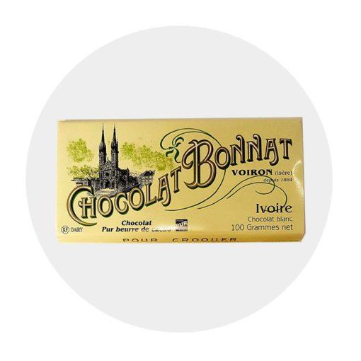 Chocolat Blanc Bonnat Ivoire