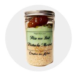 Riz au lait Pistache Abricot Comptoir Arômes