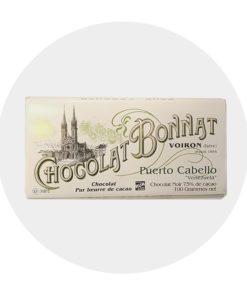 Chocolat Noir Bonnat Puerto Cabello 75 %