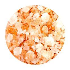 Diamant de sel en cristaux en vrac