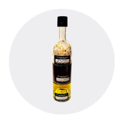 vinaigre Mure huile Morilles sel du Jardinier