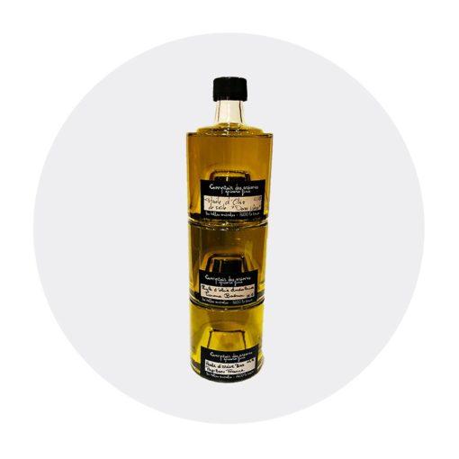 Trio d'huiles d'olives : Sicile, Andalousie, France