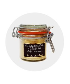 Compotée artichaut truffe