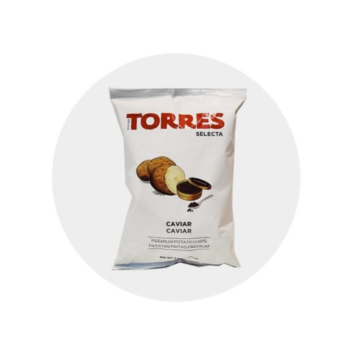 Chips caviar torres