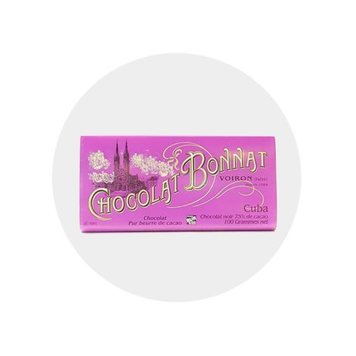 Chocolat noir Bonnat cuba 75 %